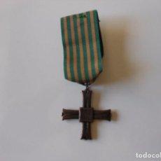 Militaria: CRUZ DE MONTECASSINO 1944 SEGUNDA GUERRA MUNDIAL. REPRODUCCIÓN. Lote 101185823