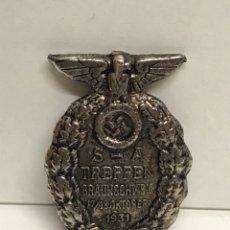 Militaria: BROCHE PIN PRENDEDOR NAZI ESVASTICA III REICH ANTIGUO PINS. Lote 101249198