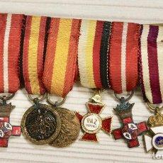 Militaria - PASADOR GUERRA CIVIL CON 8 MINIATURAS MEDALLAS - 101284171