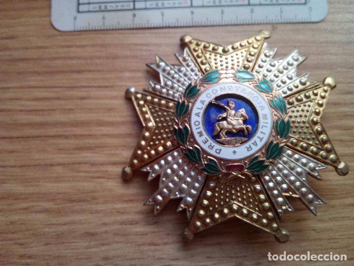 PLACA. PREMIO A LA CONSTANCIA MILITAR (Militar - Medallas Españolas Originales )