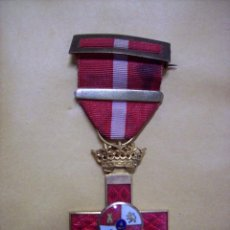 Militaria: MEDALLA MERITO ROJO EPOCA FRANCO. Lote 101324487