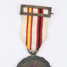 Militaria: MEDALLA AL MÉRITO SINDICAL - ESMALTADA, CINTA DE PRIMERA CLASE. AÑOS 60 - FALANGE / FRANCO. Lote 101366355