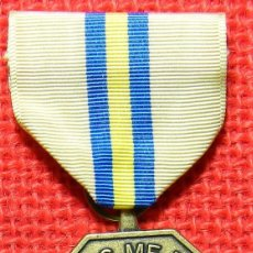 Militaria: ORIGINAL - US ARMY – CALIFORNIA - BRING ME MEN – TO MATCH MY MOUNTAINS – FOR MERITORIOUS SERVICE.. Lote 101382519