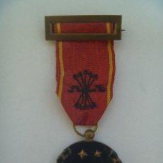 Militaria: GUERRA CIVIL : MEDALLA VIEJA GUARDIA DE FALANGE , EXPEDIENTE 1934. DE UN MARQUES. Lote 101548543