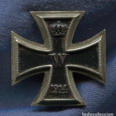 Militaria: ALEMANIA. CRUZ DE HIERRO DE 1ª CLASE, 1914. 1ª GUERRA MUNDIAL. . Lote 101548799