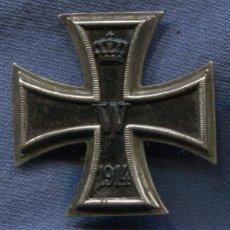 Militaria: ALEMANIA. CRUZ DE HIERRO DE 1ª CLASE, 1914. 1ª GUERRA MUNDIAL. MARCADA.. Lote 101549279