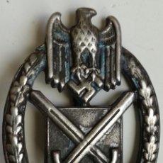 Militaria: PLACA TANQUISTA. ALEMANIA. 2ª GUERRA MUNDIAL. 1939-1945. RÉPLICA. Lote 101671967
