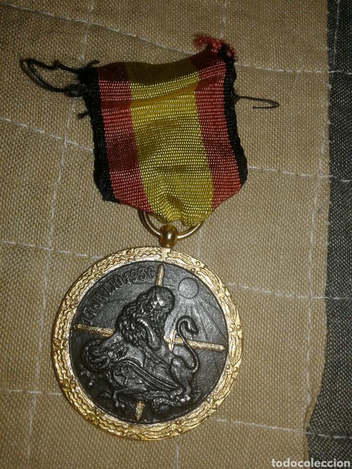 MEDALLA CONDECORACIÓN 17 DE JULIO 1936 CAMPAÑA GUERRA CIVIL (Militar - Medallas Españolas Originales )
