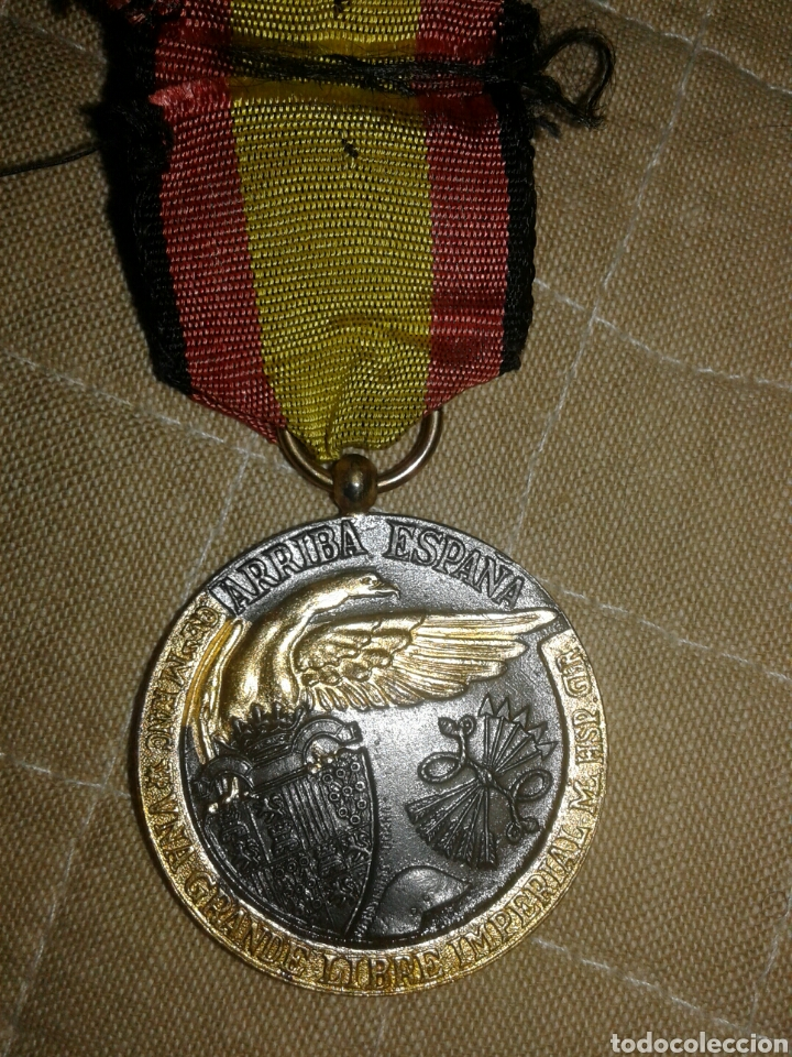Militaria: Medalla condecoración 17 de julio 1936 campaña guerra civil - Foto 2 - 101925755