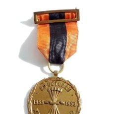 Militaria: MEDALLA FUNDACION FALANGE 29 OCTUBRE XX ANIVERSARIO 1933 1953 . Lote 102090723