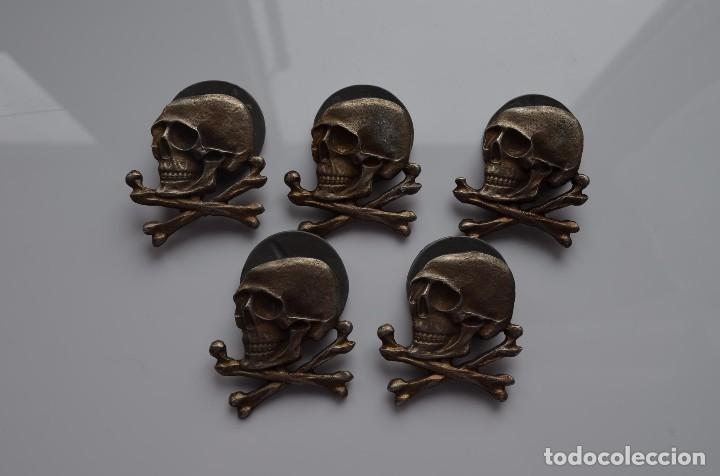 WWII THE GERMAN BADGE TOTENKOPF DEATH HEAD