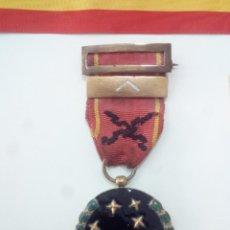 Militaria: 1933. MEDALLA DE LA VIEJA GUARDIA DE LA FALANGE. 1ºLINEA. NUMERO DE CONCESIÓN BAJO. + REGALOS.. Lote 102166723