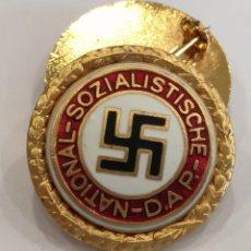 Militaria: PRECIOSA INSIGNIA DE SOLAPA DEL NSDAP PARTIDO NAZI DE ALEMANIA. Lote 102184943