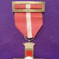 Militaria: CRUZ AL MÉRITO MILITAR.DISTINTIVO ROJO. 1 CLASE.ORIGINAL.1938-39.GUERRA CIVIL. MEDALLA-CONDECORACION. Lote 102360083