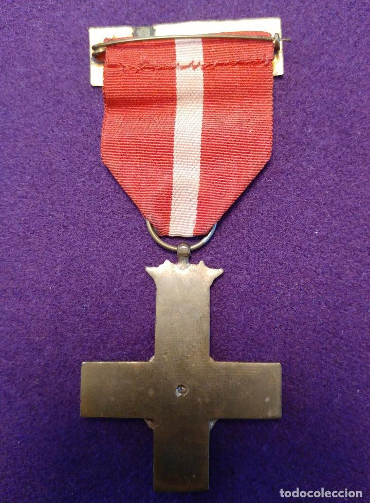 Militaria: CRUZ AL MÉRITO MILITAR.DISTINTIVO ROJO. 1 CLASE.ORIGINAL.1938-39.GUERRA CIVIL. MEDALLA-CONDECORACION - Foto 2 - 102360083