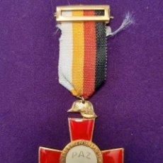 Militaria: CONDECORACION XXV AÑOS DE PAZ. VARIANTE. 1939-1964. CRUZ CONMEMORATIVA EXCOMBATIENTES. MEDALLA.. Lote 102360707