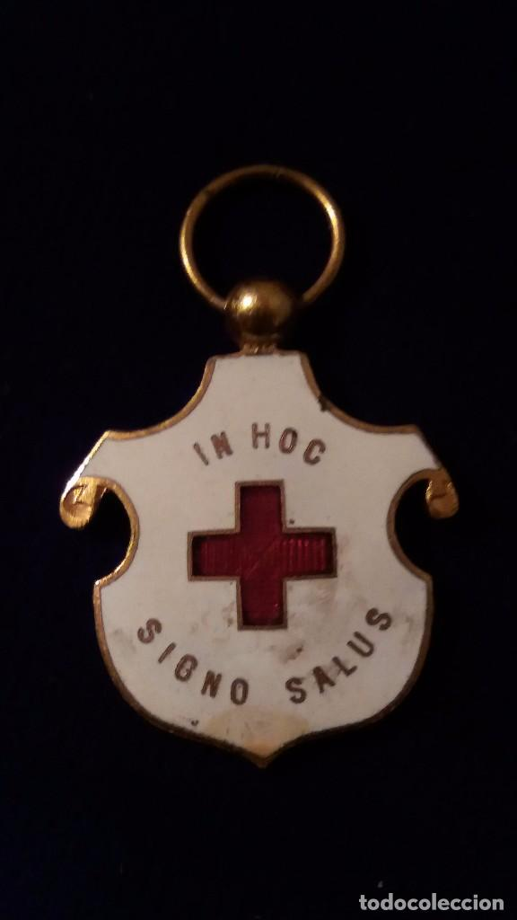 CONDECORACION DAMAS CRUZ ROJA ALFONSO XIII (Militar - Medallas Españolas Originales )