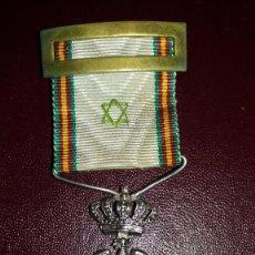 Militaria: CONDECORACION+DIPLOMA MEDALLA DE LA PAZ, MARRUECOS 1909-1927. Lote 102726739