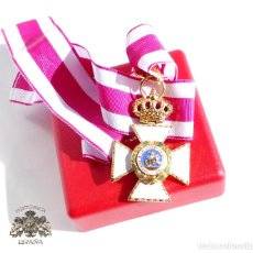 Militaria: ENCOMIENDA ORDEN DE SAN HERMENEGILDO -CASA FLANDEZ. PERTENECIO A MORENO GARCELAN DIVISIÓN AZUL . Lote 102734971