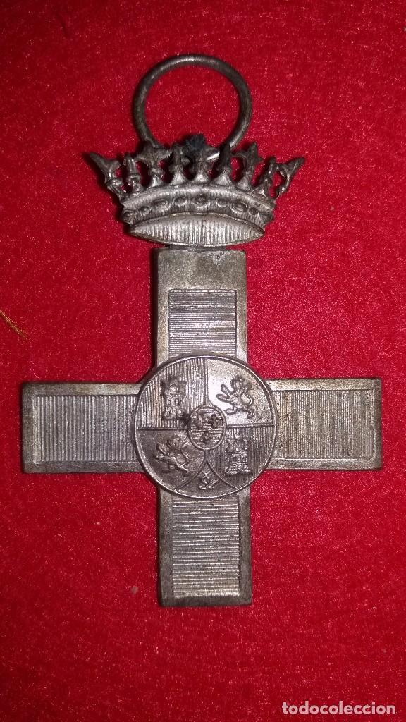 CONDECORACION CRUZ AL MERITO MILITAR, PLATA, GUERRA CIVIL (Militar - Medallas Españolas Originales )