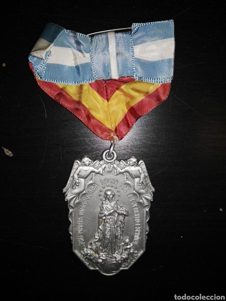 MEDALLA ASOCIACIÓN MARIA INMACULADA EJERCITO (Militar - Medallas Españolas Originales )