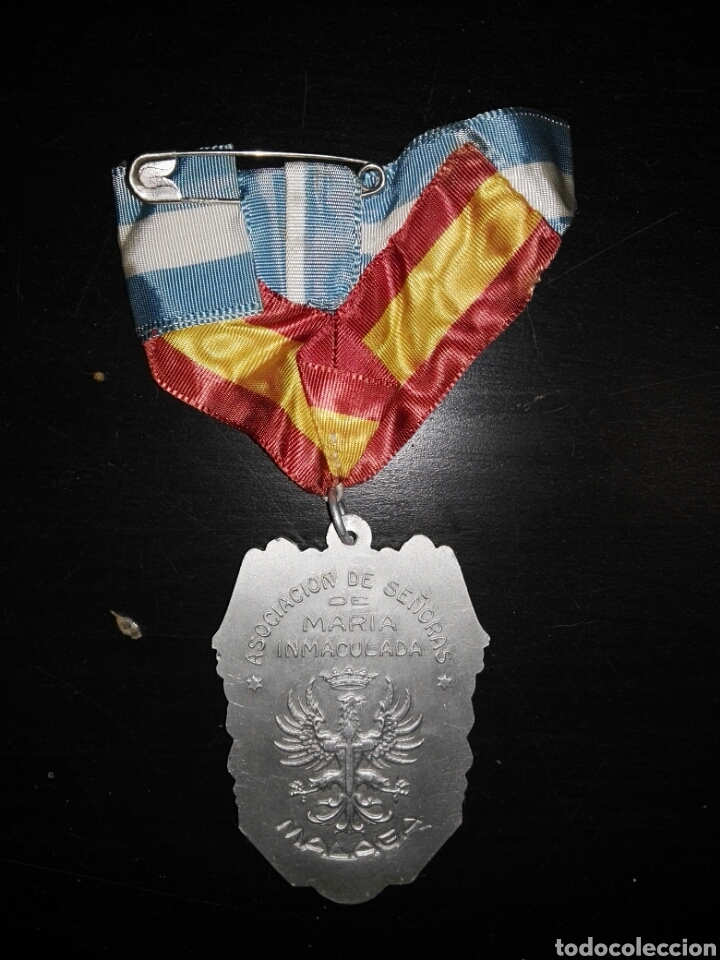 Militaria: medalla asociación maria Inmaculada ejercito - Foto 2 - 102927899