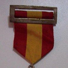 Militaria: MEDALLA JURA DE BANDERA ALFERECES PROVISIONALES DE INGENIEROS PALENCIA 15-7-1938. Lote 103040339