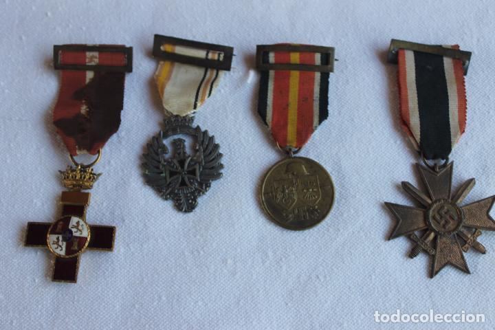 RESERVADO, RESERVADO MEDALLAS DIVISION AZUL, ORIGINALES (Militar - Medallas Españolas Originales )