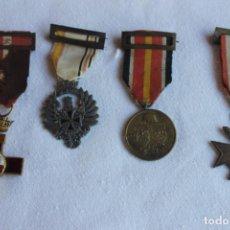 Militaria: LOTE MEDALLAS DIVISION AZUL, ORIGINALES. Lote 103142323