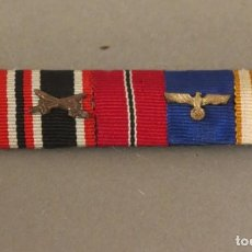 Militaria: WEHRMACHT. CINTAS ORIGINAL DE CINCO MEDALLAS DE LA SEGUNDA GUERRA MUNDIAL. ALEMANIA 1939 - 1945. Lote 103536783