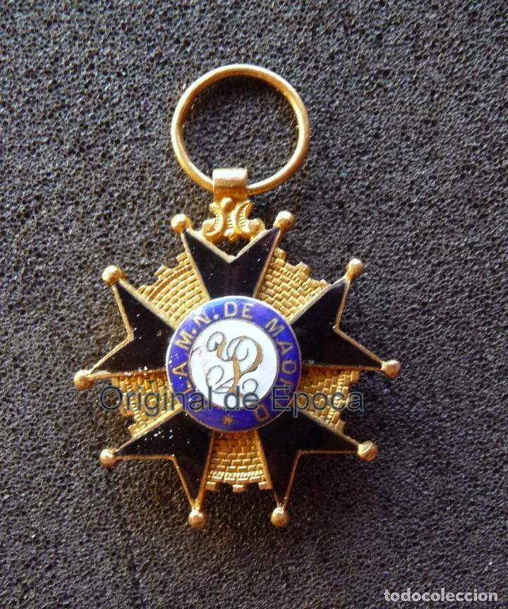(JX-171188) MEDALLA A LA MILICIA NACIONAL VOLUNTARIA DE MADRID EN CADIZ .( G.C.651) . (Militar - Medallas Españolas Originales )