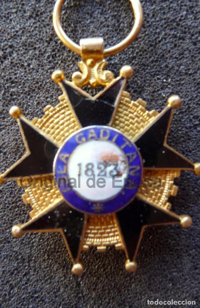Militaria: (JX-171188) Medalla a la Milicia Nacional Voluntaria de Madrid en Cadiz .( G.C.651) . - Foto 5 - 103578059