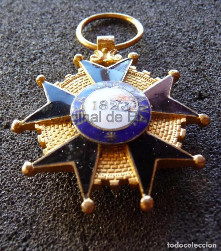 Militaria: (JX-171188) Medalla a la Milicia Nacional Voluntaria de Madrid en Cadiz .( G.C.651) . - Foto 6 - 103578059