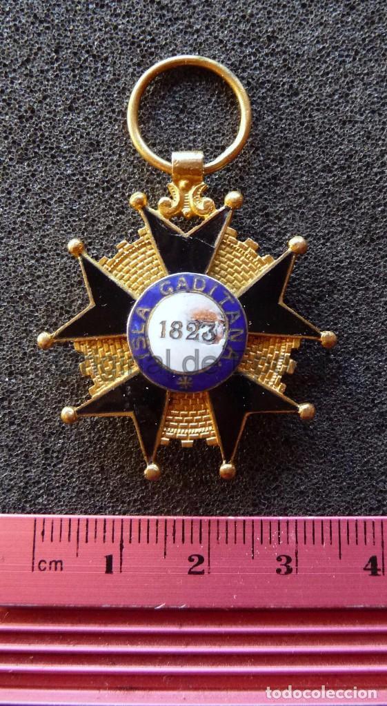 Militaria: (JX-171188) Medalla a la Milicia Nacional Voluntaria de Madrid en Cadiz .( G.C.651) . - Foto 10 - 103578059