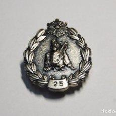 Militaria: MEDALLA JAPONESA DE PLATA MACIZA.25 AÑOS EN EL CUERPO DE BOMBEROS.NUEVA.RARA.. Lote 103655495