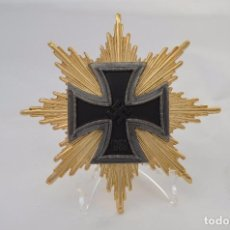 Militaria: WWII STAR OF THE GRAND CROSS OF THE IRON CROSS 1939. Lote 103780823