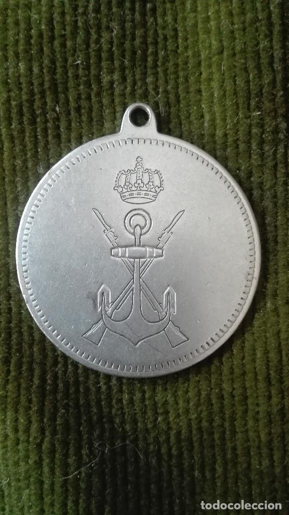 MEDALLA METÁLICA INFANTERÍA DE MARINA (Militar - Reproducciones y Réplicas de Medallas )