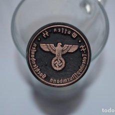 Militaria: WWII GERMAN STAMP WAFFEN - SS SS-TOTENKOPFSTURMBANN SACHSENHAUSEN. Lote 121970186