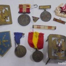 Militaria: LOTE DE TEMATICA MILITAR Y MEDALLA DE SALVAMENTO DE NAUFRAGOS. VER FOTOS. Lote 103922143