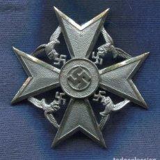 Militaria: ALEMANIA III REICH. SPANIEN KREUZ. SIN ESPADAS.LEGION CONDOR.MUY BUENA REPRODUCCIÓN DE LOS 70-80. Lote 12260317