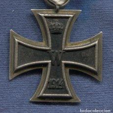 Militaria: ALEMANIA. CRUZ DE HIERRO DE 2ª CLASE, 1914. 1ª GUERRA MUNDIAL. CINTA PARA NO COMBATIENTES.. Lote 104292519
