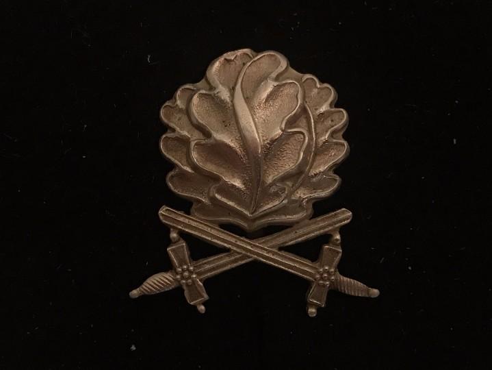 HOJAS DE ROBLE ESPADAS MEDALLA CRUZ DE CABALLERO EICHENLAUB OAKLEAVES REICH HITLER RITTERKREUZ NAZI (Militar - Reproducciones y Réplicas de Medallas )