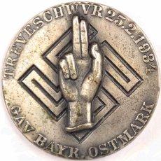Militaria: INSIGNIA JURAMENTO TREUESCHWUR, TERCER REICH, ADOLF HITLER, FUHRER,NAZI. Lote 71555515