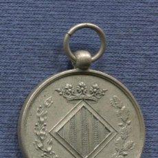 Militaria: CATALUNYA. MEDALLA DE LAS BODAS DE JACINTO COMELLA Y DOLORES BASSOLS. VICH. 21 DICIEMBRE 1903,. Lote 104719779