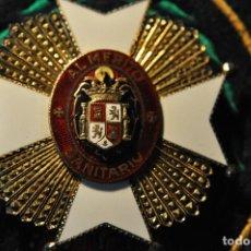 Militaria: PLACA MERITO SANITARIO EPOCA ANTERIOR FABRICACION DE JOYERIA. Lote 104993111