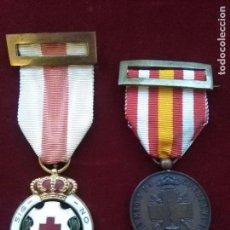 Militaria: MEDALLAS CRUZ ROJA ESPAÑOLA ÉPOCA ALFONSO XIII. Lote 105118911
