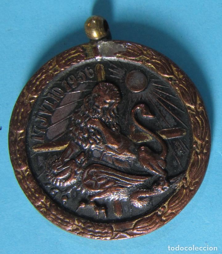 MEDALLA UNA GRANDE LIBRE IMPERIAL. ¡ARRIBA ESPAÑA!, 17 DE JULIO DE 1936. (Militar - Medallas Españolas Originales )