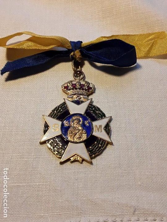 MEDALLA DAMAS SANIDAD MILITAR (Militar - Medallas Españolas Originales )
