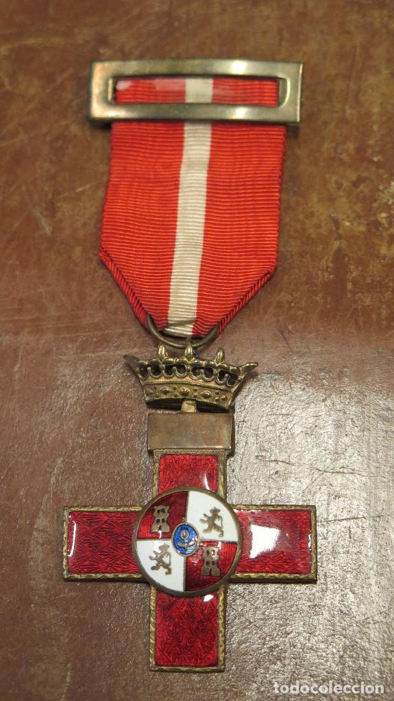 MEDALLA CRUZ ROJA MERITO MILITAR (Militar - Medallas Españolas Originales )