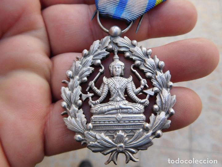 Militaria: Medalla de Camboya - Foto 3 - 105892339